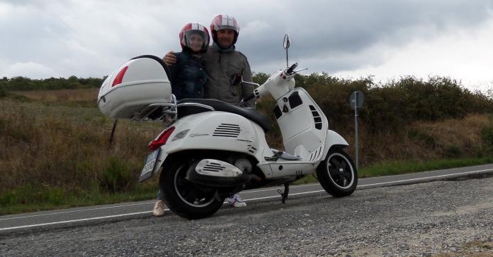 Mr.&Ms. Sanchez from Spain enjoying Toscana...
