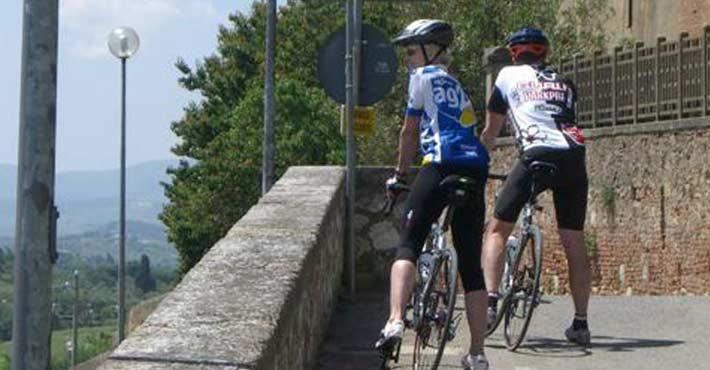 nice sightseeings with bike