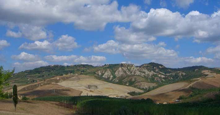 mountain of Tuscany